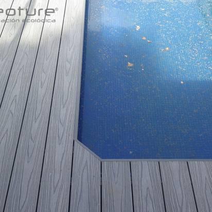 Tarima madera composite Neocros Pizarra
