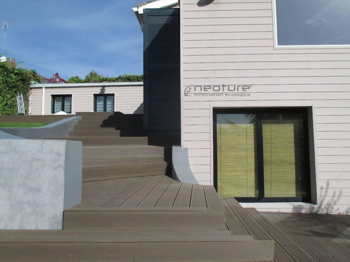 paredes de madera tcnica ideal para madera tecnologica exterior tarima