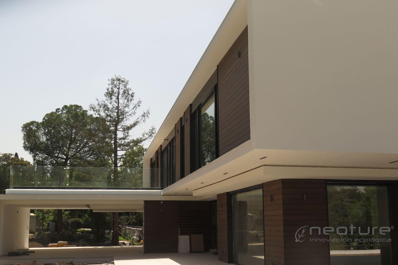 Revestimiento exterior sint tico neocros - Revestimientos de fachadas precios ...