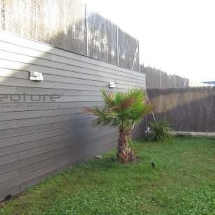 Vallado exterior para delimitar jardines NeoLack Coffee