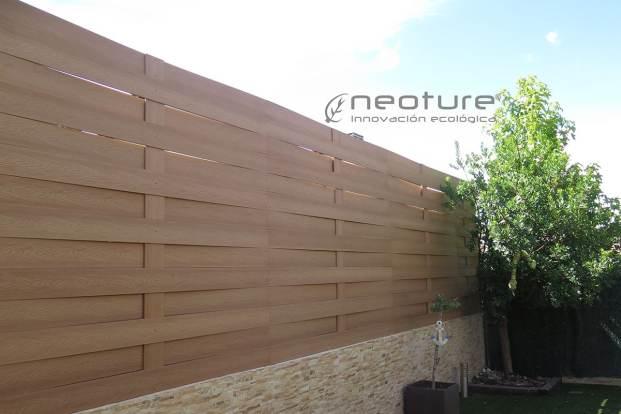 Vallado madera tecnológica exterior wood