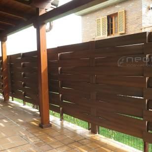 valla exterior terraza jardin madera composite color ipe - Valla Jardin