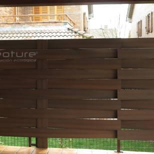 vallado-madera-sintetica-exterior color teka