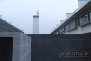 Valla madera sintética exterior Color Grey