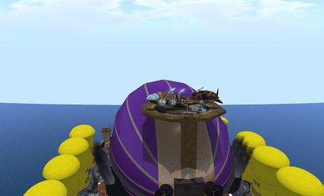 Landing in Asperatus