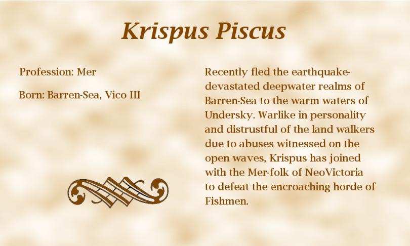 Krispus Piscus biography