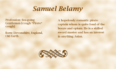 Samuel Belamy biography
