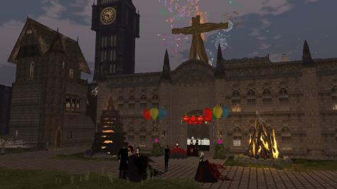 NeoLondon Town Hall on Bonfire NIght