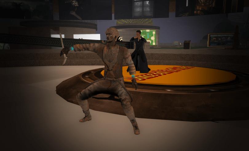 MetalMan Dancing