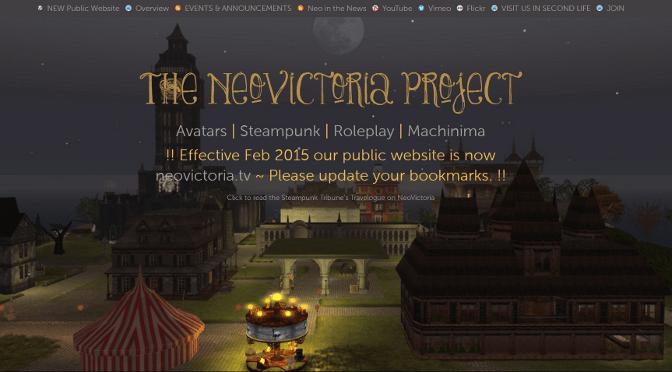 Development   The NeoVictoria Project