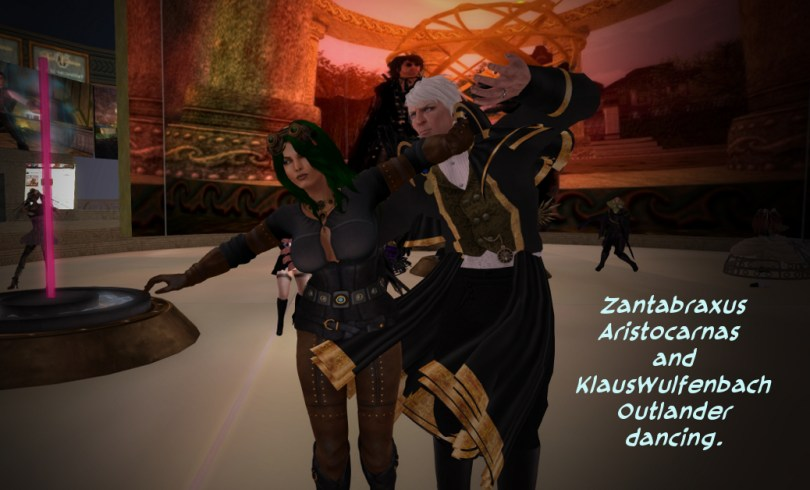 Zantabraxus and KlausWulfenbach Dancing