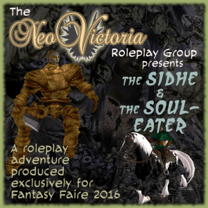 "Poster for ""The Sidhe and The Soul-Eater"""