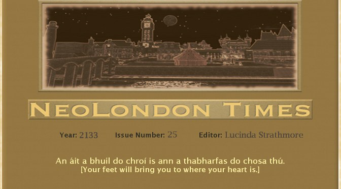 The NeoLondon Times ~ Volume 25