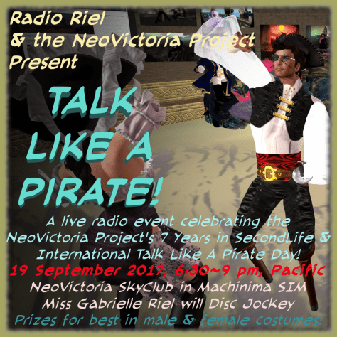 Talk Like A Pirate!