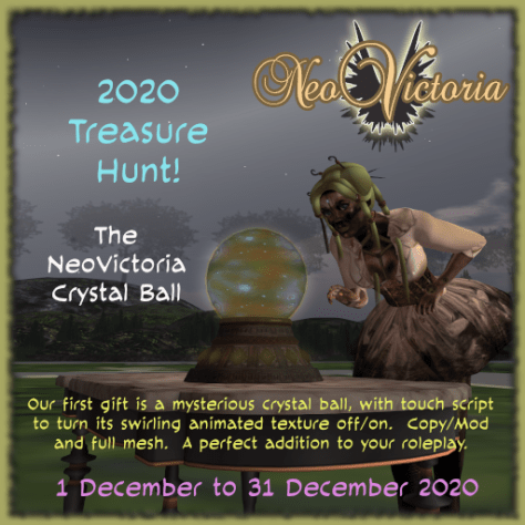NeoVic Treasure Hunt 2020 Crystal Ball