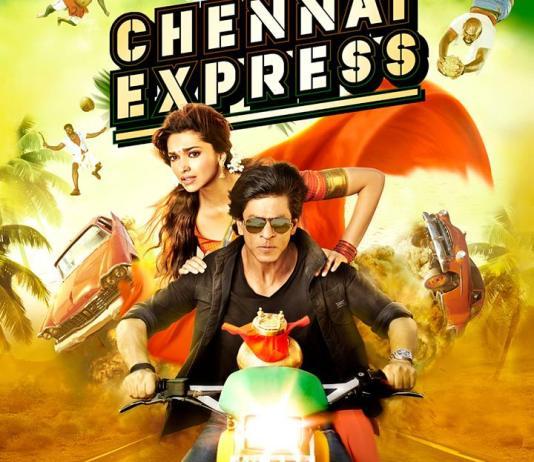 Chennai Express Hindi Movie Poster 1