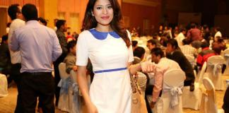 Ishani Shrestha at Samsung Grand Launch 2