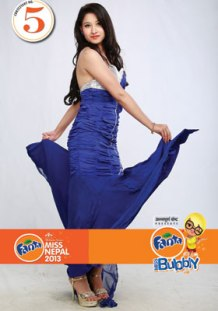 Maya Sawad Miss Nepal 2013 Participant 5