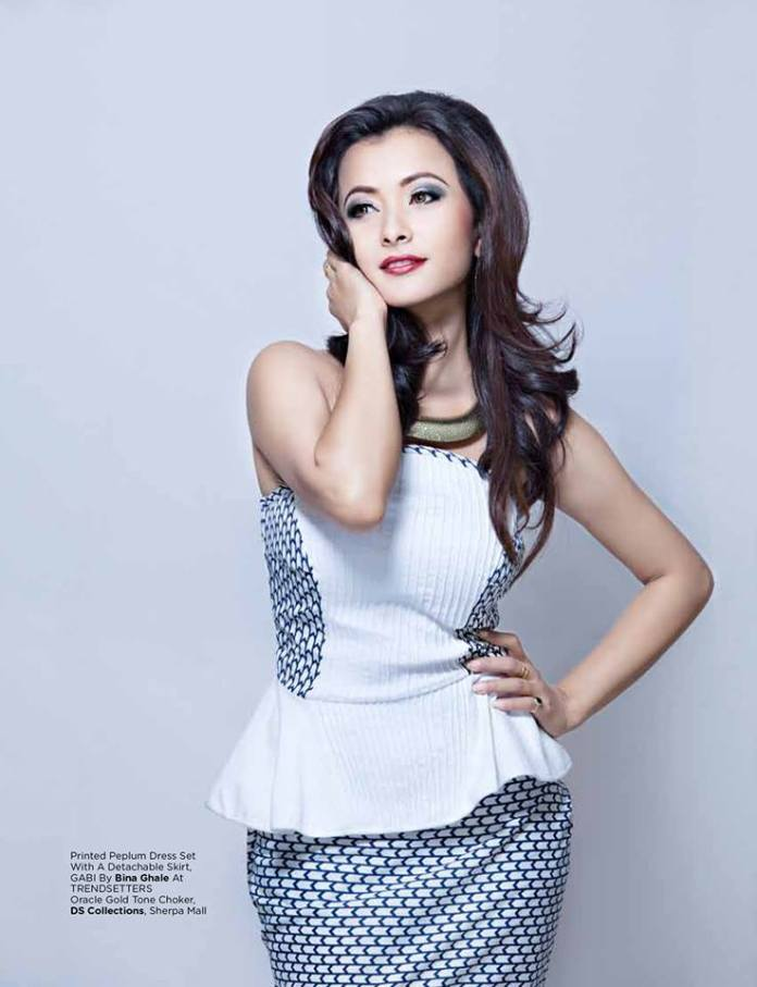 Namrata Shrestha in Gabi Navyaata Magazine Jestha 2013