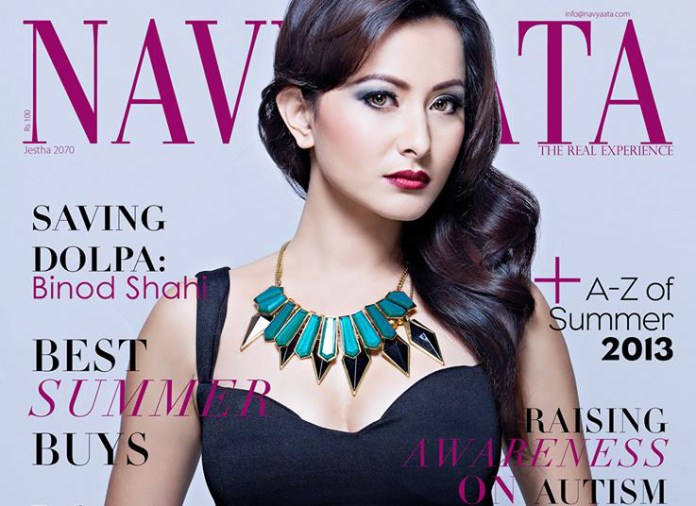 Namrata Shrestha on Navyaata Magazine NepalFM