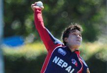 Nepal vs Afghanistan qualifier 2013