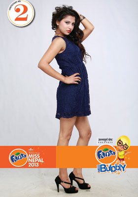 Rachana Bharati  Miss Nepal 2013 Participant 2