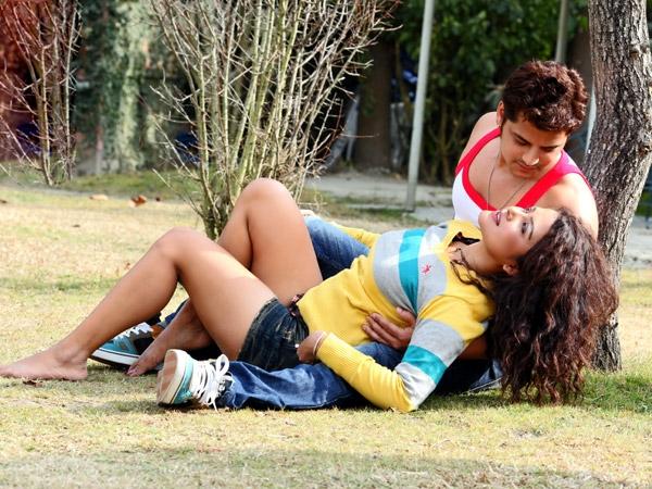 Sexy Rekha Thapa with Sabin Shrestha Hamesa Movie4