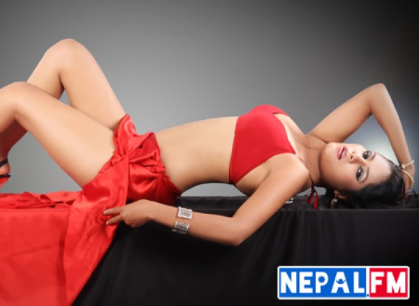 Sima KC Sexy in Nepali movie USE Nepal FM