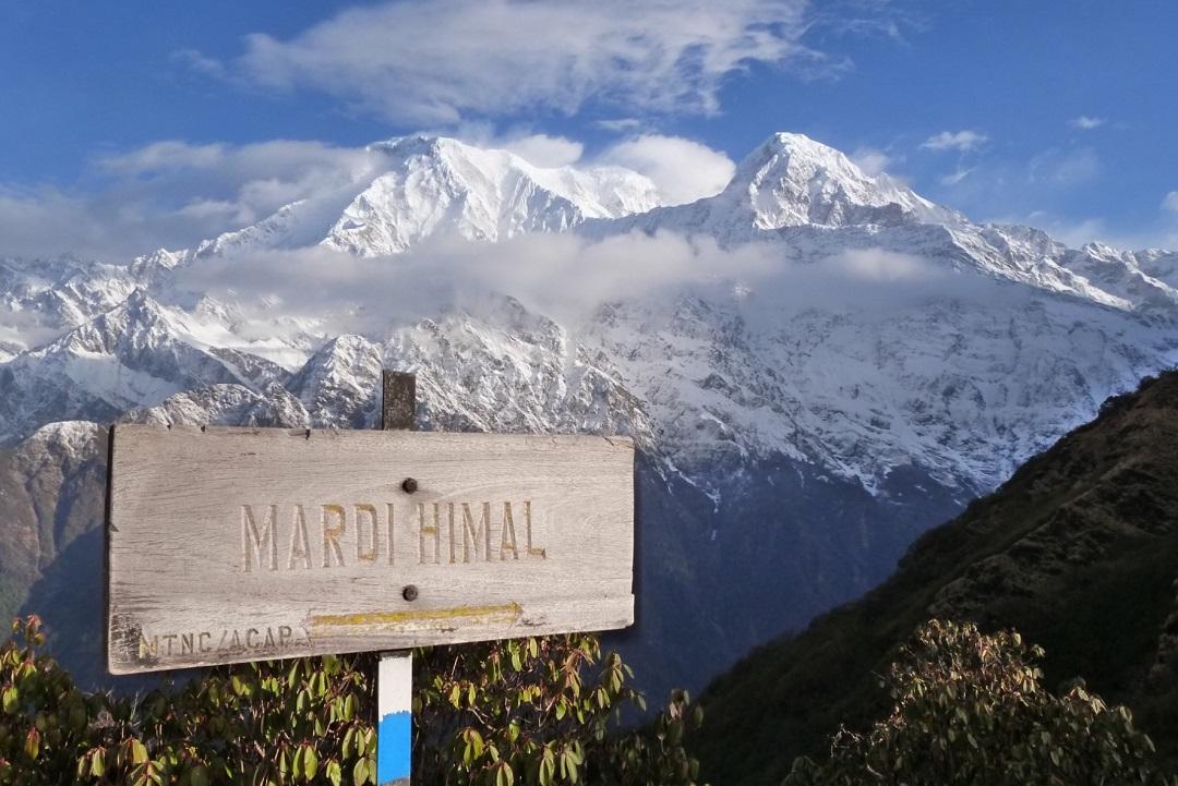 Trekking du Balcon du Fish Tail, Camp de Base du Mardi Himal au Népal