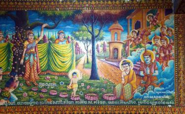 La naissance de Siddartha Gautam