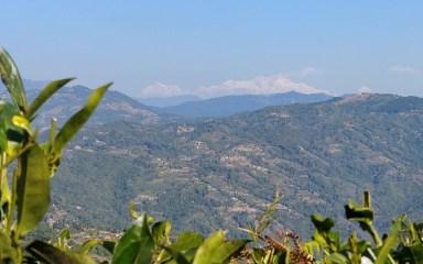 kanchenjunga seen from antu danda ilam