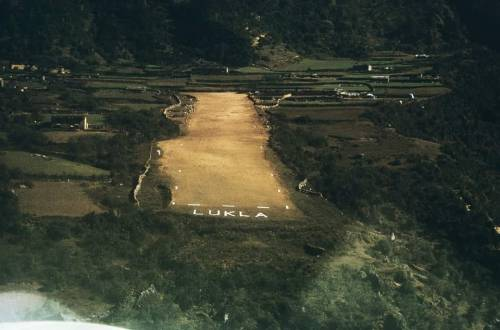 lukla airstrip 1964 Jim Fisher