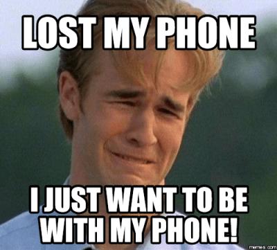 Funny Lost Phone Meme
