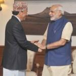 The Deputy Prime Minister of Nepal, Shri Kamal Thapa calls on the Prime Minister, Shri Narendra Modi, in New Delhi on October20, 2015.