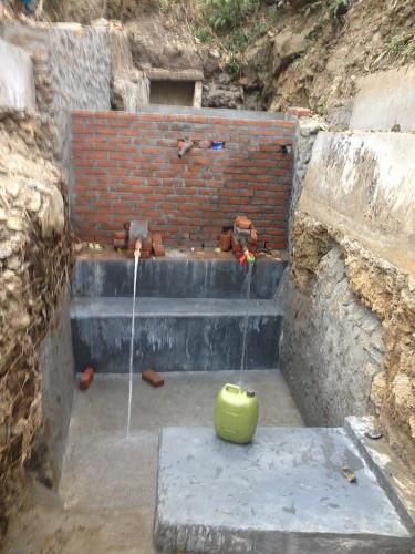 Water source protection work