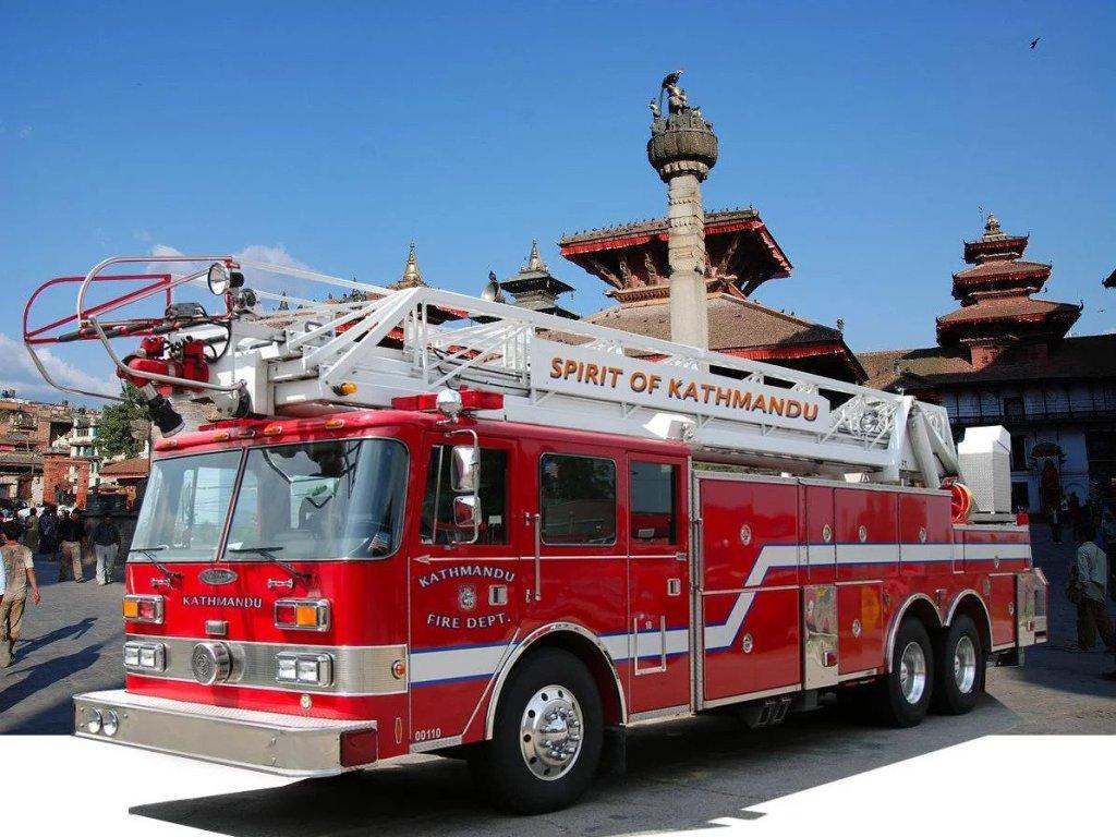 fire truck nepal michael kobold