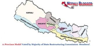 11 Province Model of Nepal