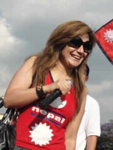 Abhya Subba at Nepal Unites Event