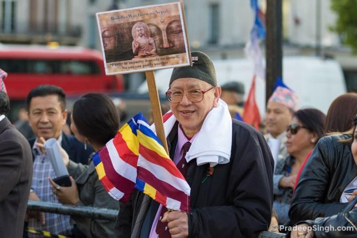 Buddha Jayanti Trafalgar Square London-7867