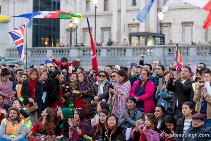 Buddha Jayanti Trafalgar Square London-8566