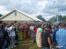 Crowd at Gulmi Samaj Uk