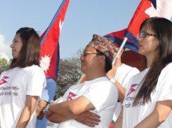 Jenisha Moktan and Byakul Maila at Nepal Unites