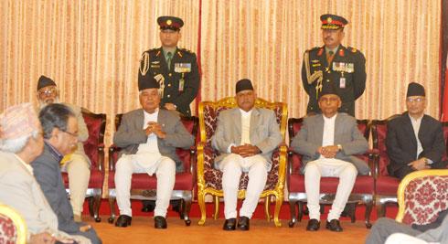 Khil Raj Regmi Sworn in as Prime Minister of Nepal