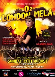 London Mela Poster