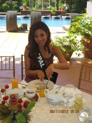 Nagma Shrestha in Miss Earth 2012 11