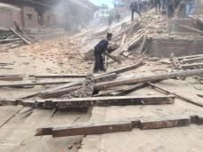 Nepal Earthquake Kathmandu Temple 2