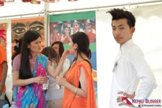 Nepal at London Mela 2012
