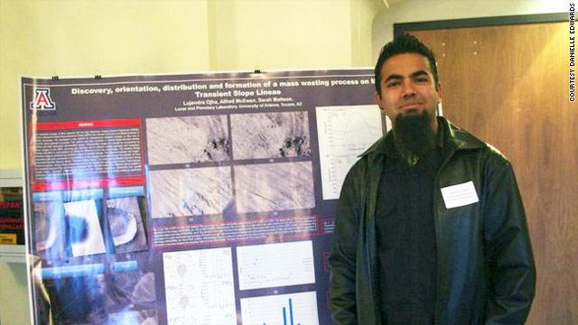 Nepali Scientist Lujendra Ojha
