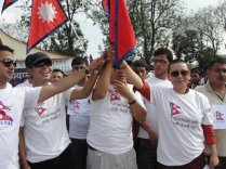Nepali Singers Unite for Constitution in Nepal