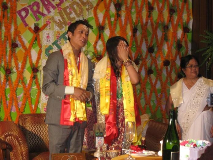 Prashant Tamang weds Martha Aley